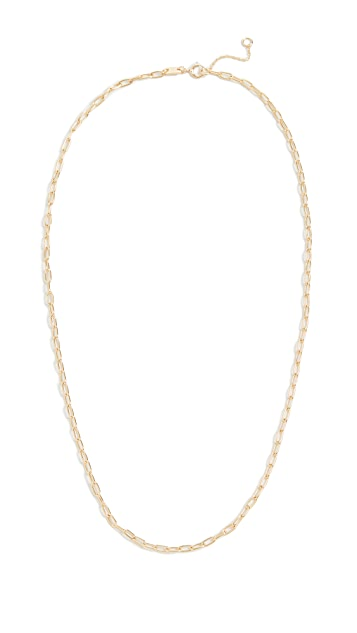 Madewell Foundation Paperclip Chain Necklace
