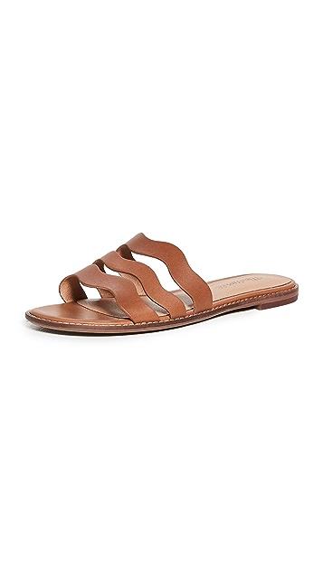 Madewell Joy Wavy Sandals