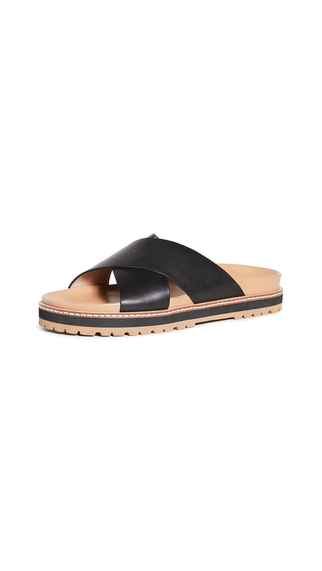 Madewell PATTY CRISSCROSS LUG SANDALS