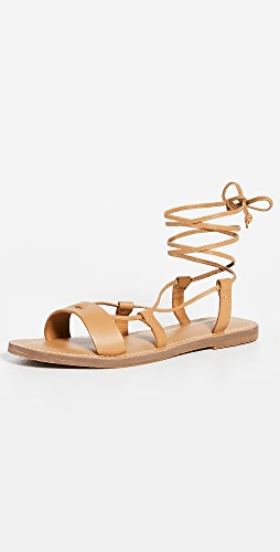 Madewell - Boardwalk Lace Up Sandals