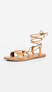Madewell Boardwalk Lace Up Sandals