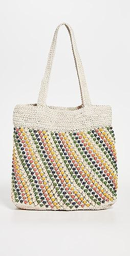 Madewell - The Beaded Crochet Tote Bag
