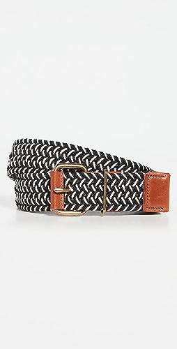 Madewell - 3 编织梭织腰带