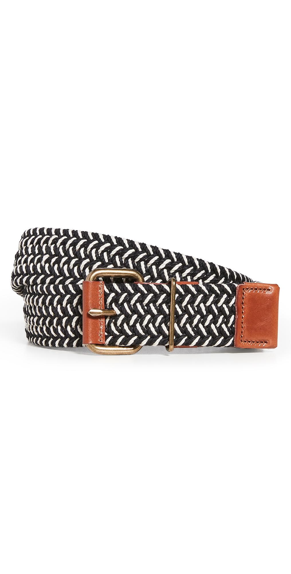 Madewell 3 Braid Woven Belt