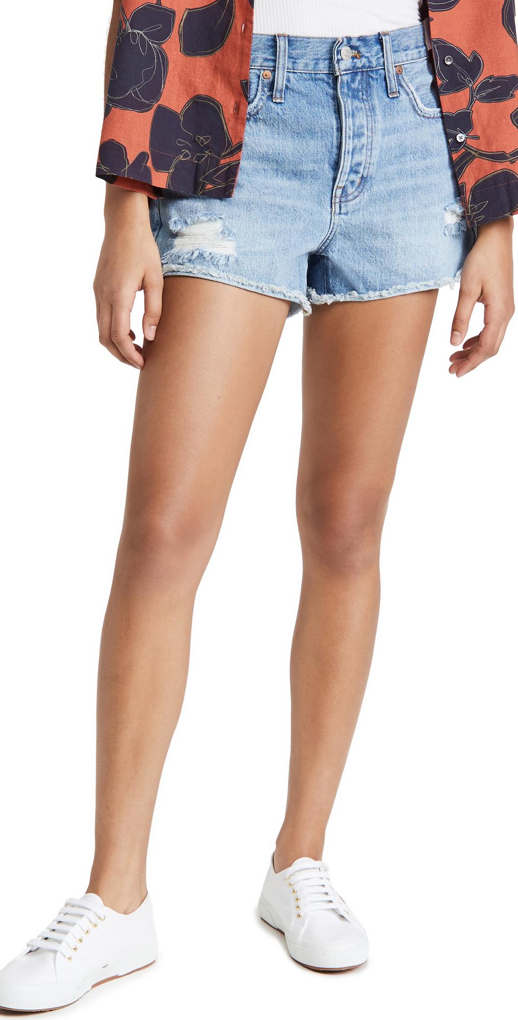 Madewell Rigid Boy Shorts
