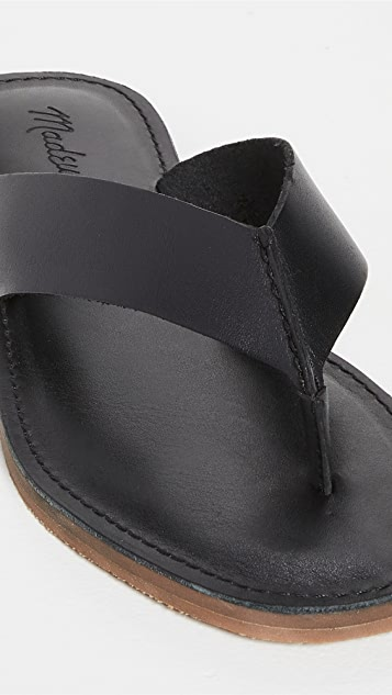 Madewell Boardwalk Thong Sandals