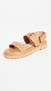 Madewell The Cady Lugsole Sandals
