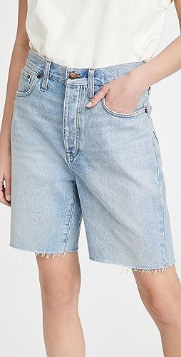 Madewell - 宽松及膝牛仔布短裤