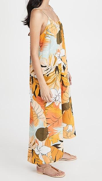 Madewell Serena Tie Back Dress