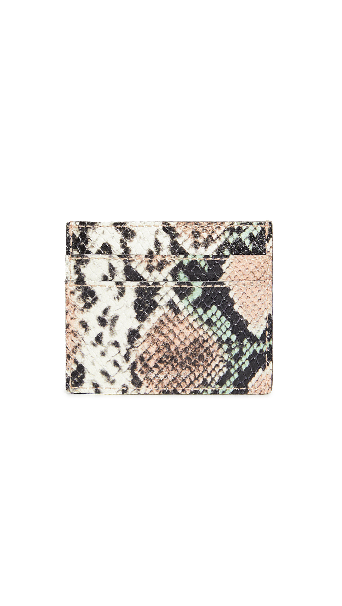 Madewell SNAKE CARD CASE