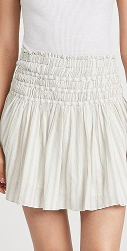Madewell - Smocked Miniskirt