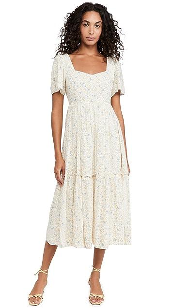 Madewell Retro Midi Dress
