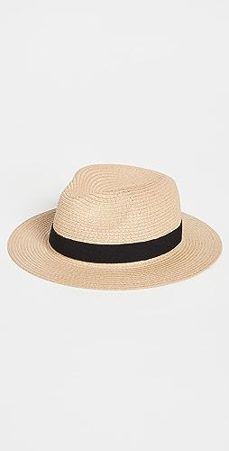 Madewell - 可折叠费朵拉帽