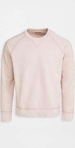 Madewell - Garment Dye Crew Neck Sweatshirt