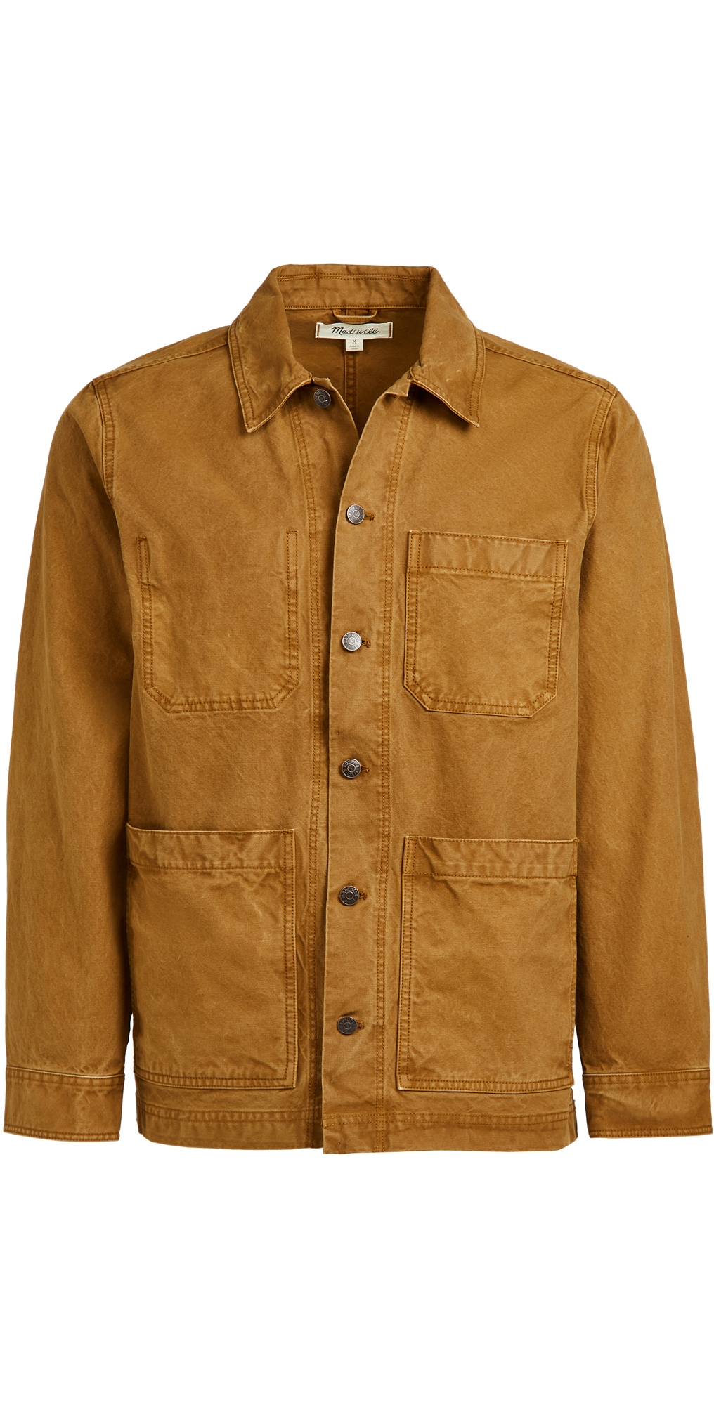 Madewell Cottons CANVAS CHORE COAT