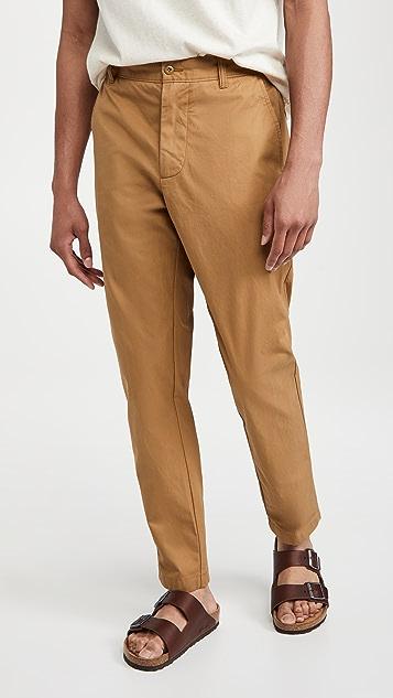 Madewell Pleated Chino Pants