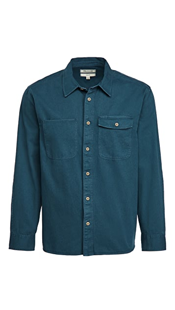 Madewell Station Dye Shirt