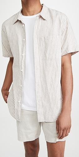 Madewell - Linen-Cotton Perfect Short-Sleeve Shirt