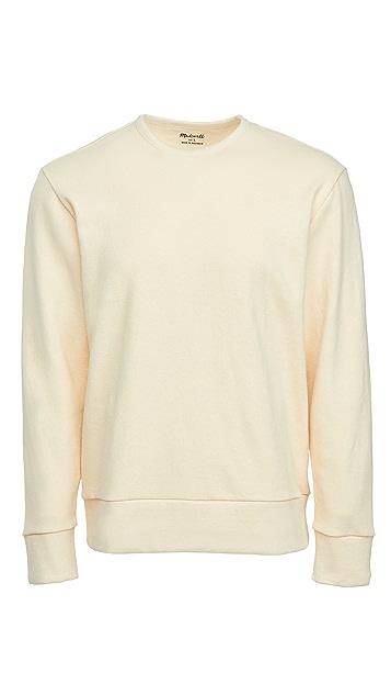 Madewell Hemp Crew Neck Sweatshirt