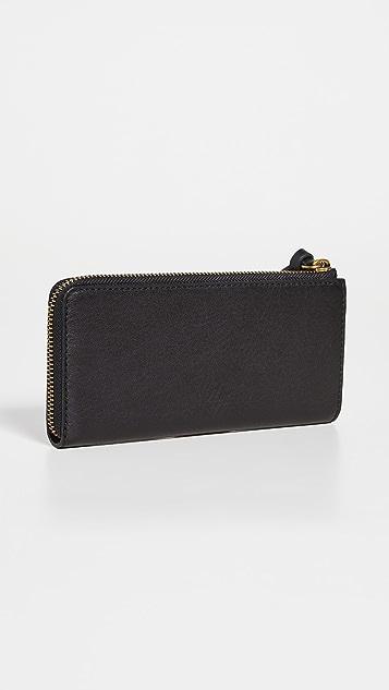 Madewell Continental Zip Wallet