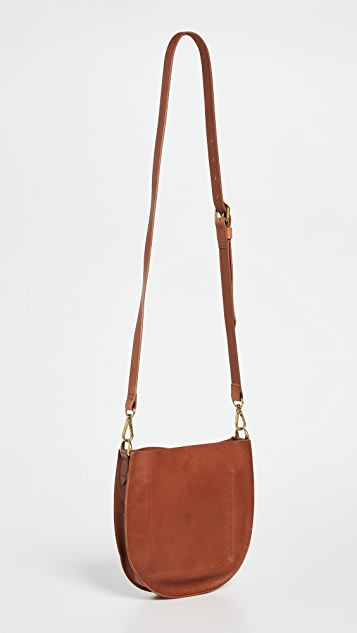 Madewell Transport U Slim Saddle Bag