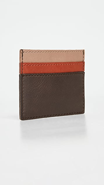 Madewell Colorblock Card Case