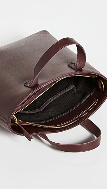 Madewell Small Inset Zip Transport Tote