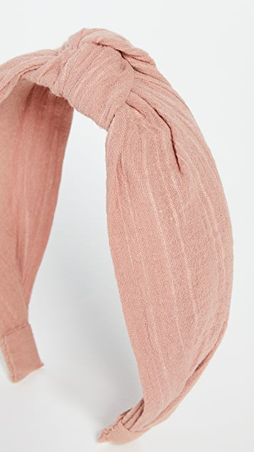 Madewell Knotted Covered Headband