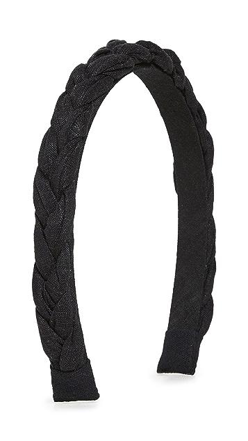 Madewell Skinny Puffy Braided Headband
