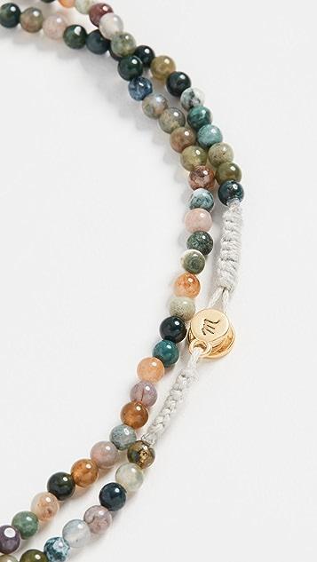 Madewell 珠饰链条项链