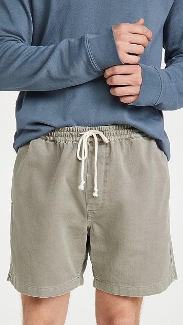 Madewell Cotton Everywear Shorts