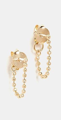 Madewell - Vermeil Chain Drop Oracle Earrings