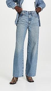 Madewell Super Wide Leg Full Length Rigid Jeans