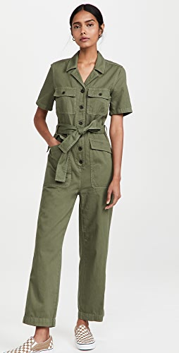 Madewell - Tie Waist Military Coveralls