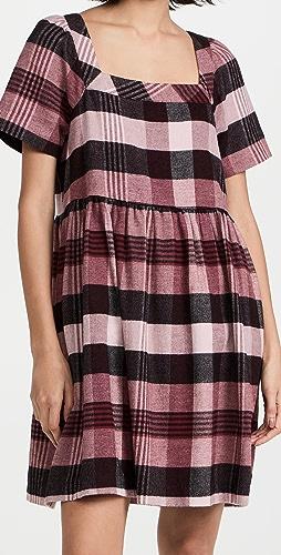 Madewell - Square Neck Mini Dress
