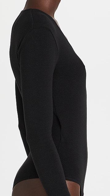 Madewell Wrap Thong Bodysuit