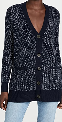 Madewell - Bird's Eye Maysfield Cardigan Sweater