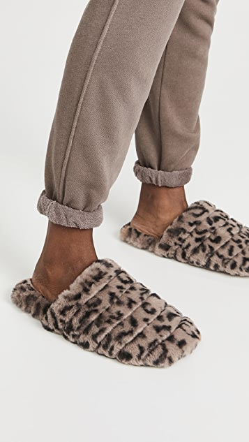 Madewell Quilted Scuff Slippers
