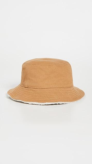 Madewell Sherpa Bucket Hat