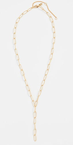 Madewell - Libby Paperclip Y Necklace