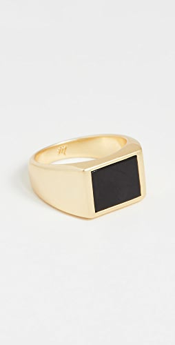 Madewell - Black Onyx Helio Ring