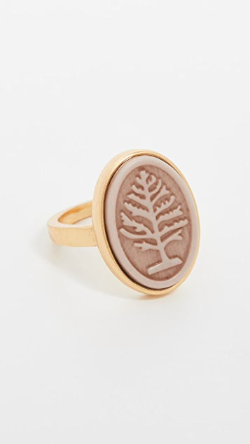 Madewell Cameo Ring