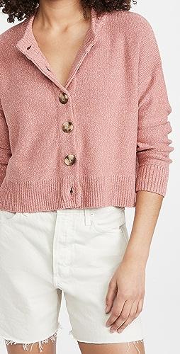 Madewell - Broadway 系扣衫毛衣