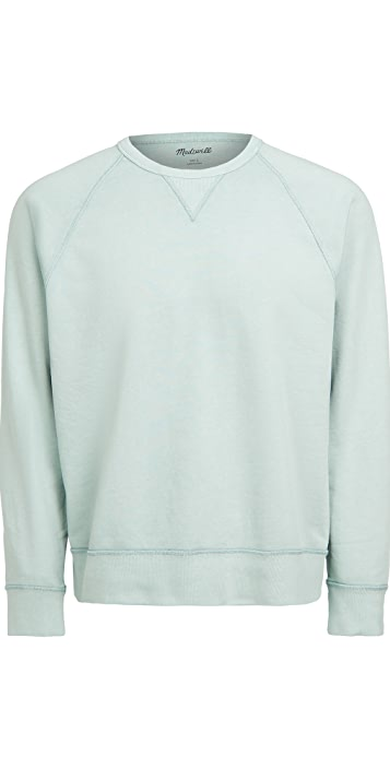 Madewell Dye Crewneck Sweatshirt
