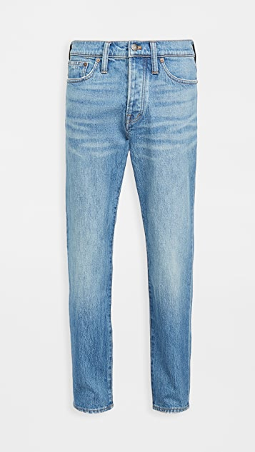 Madewell Tapered Crop Jeans