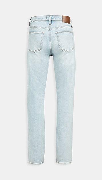 Madewell Athletic Slim Jeans In Keasler