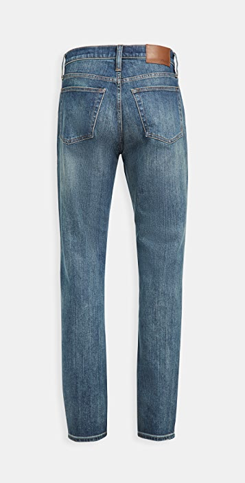 Madewell Athletic Slim Jeans In Seaward