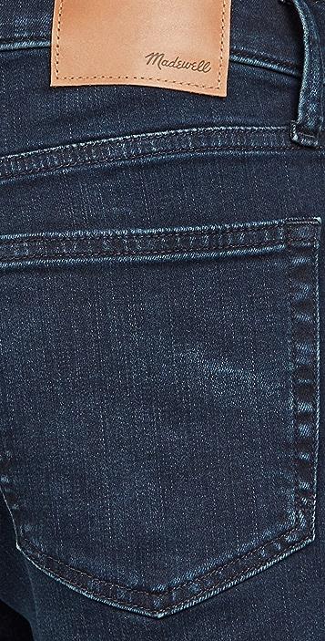 Madewell Slim Jeans In Blue Black