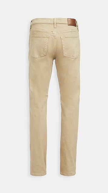 Madewell Slim Jeans In Garment Dye