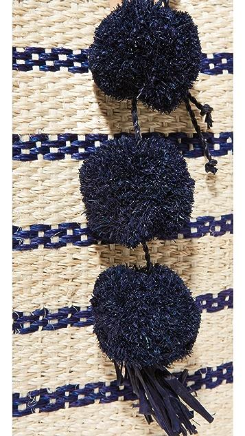 Mar Y Sol Объемная сумка с короткими ручками Tybee